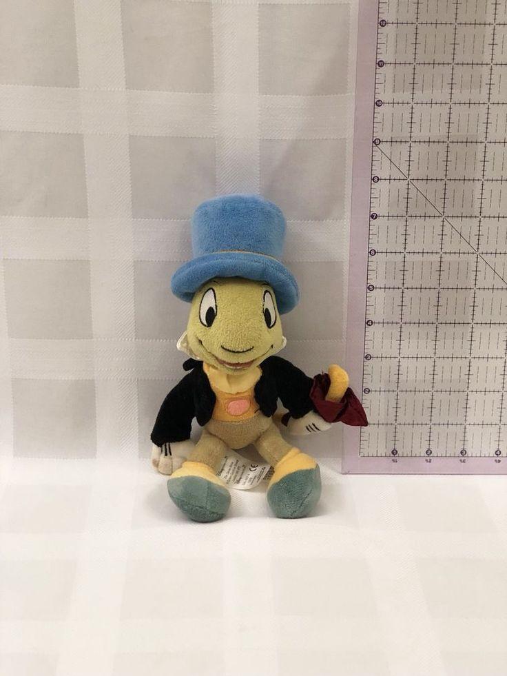 Disney Store Plush Jiminy Cricket from Pinochio #Disney