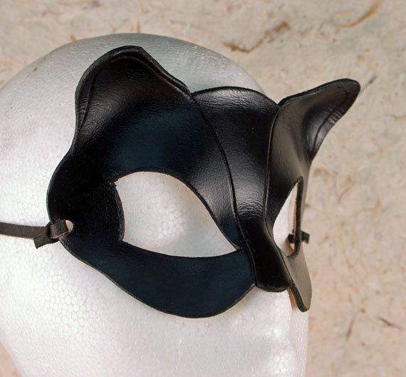 CATWOMAN Mask.  Designed & Hand Crafted in Wales. £20.00, via Etsy