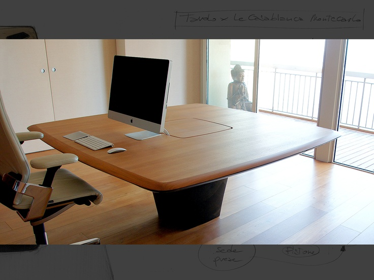 Le CasaBianca - Working table for private house.