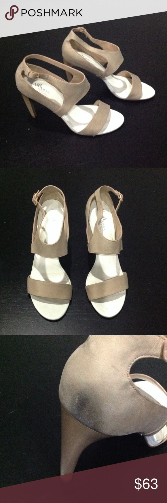 Cole Haan/ Nike Air Tan heels Leather 4 inch heels Cole Haan/ Nike Air Tan heels Cole Haan Shoes Heels