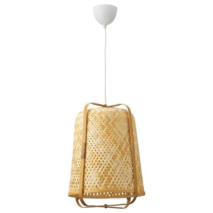Nouveau Knixhult Suspension En Bambou 39 95 Piece Ikea Suspension Bambou Lampe Suspendue Lampe Bambou