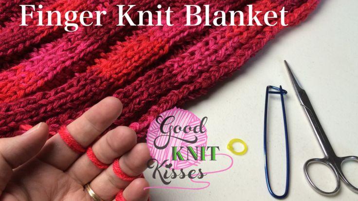Finger Knitting a Blanket | finger knit a blanket have you ever finger knit a