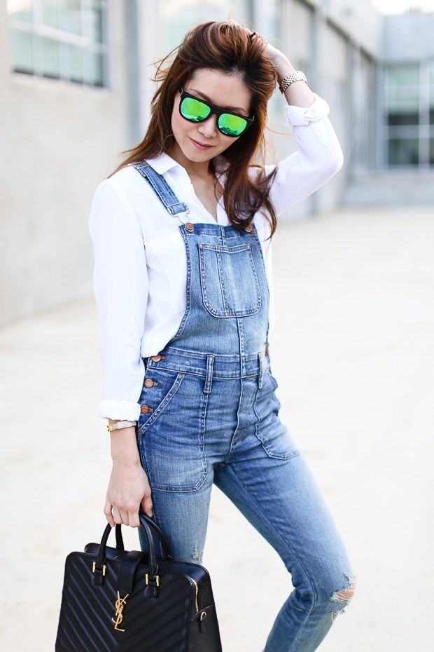Stylewich: Skinny Overalls and Birkenstocks
