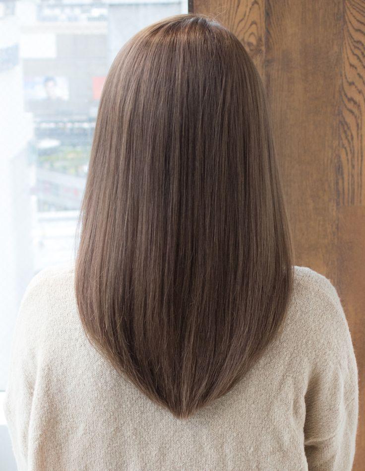 さらっとうるっとストレート(AS-110) | ヘアカタログ・髪型・ヘアスタイル|AFLOAT(アフロート)表参道・銀座・名古屋の美容室・美容院