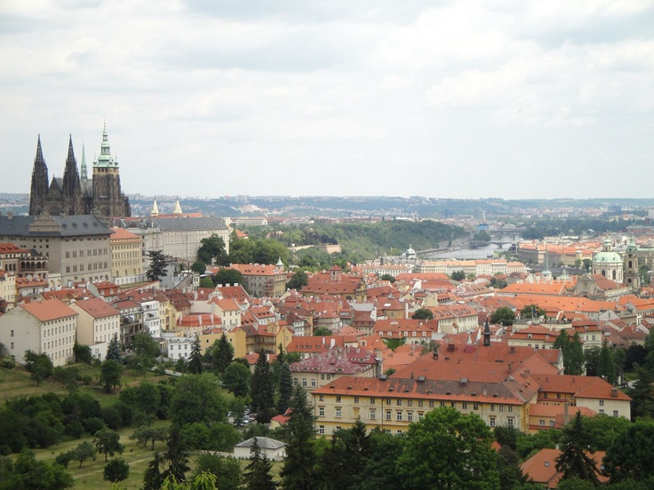 View from the Strahov Monastery Brewery terrace