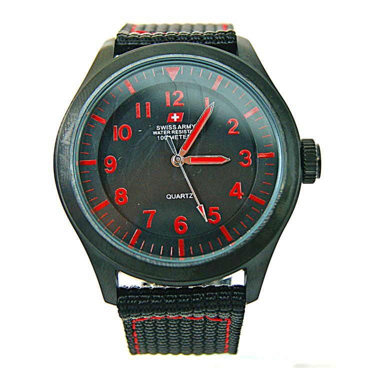 Swiss Army Men's Sport SA HCC 1186 BLACK RED  #jam tangan #toko belanja online fashion #toko online jam tangan #jam tangan swiss army #fastworld