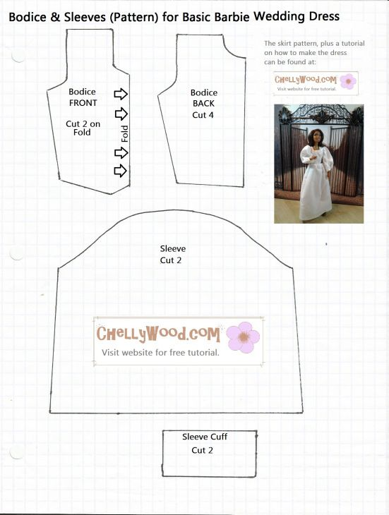 free wedding dress patterns download - Demire.agdiffusion.com