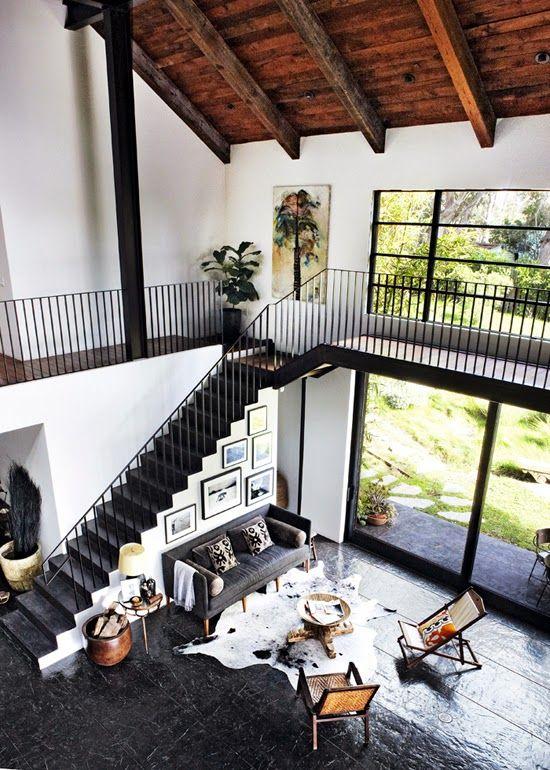 The stunning malibu home of a creative couple. Martin Löf.