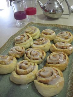 THERMOMIX Butterflies and Bicycles: Thermomix Cinnamon Scrolls