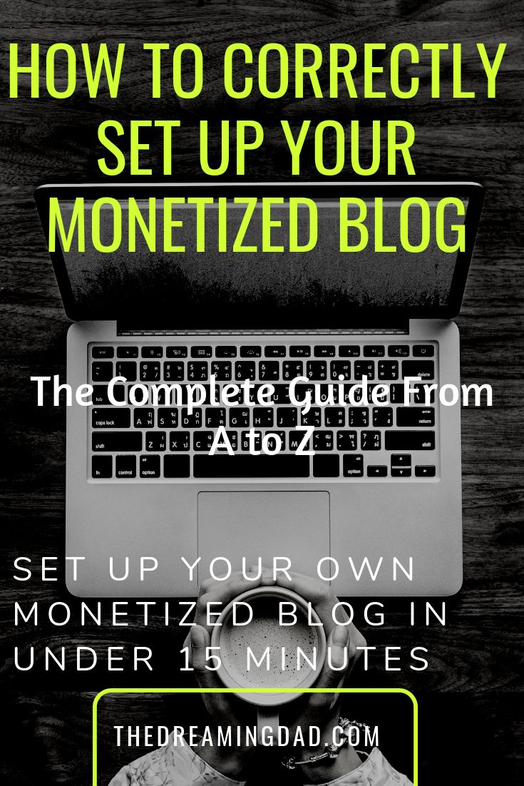 The complete guide to set up your monetized blog the correct way – Passive income ideas – iPad