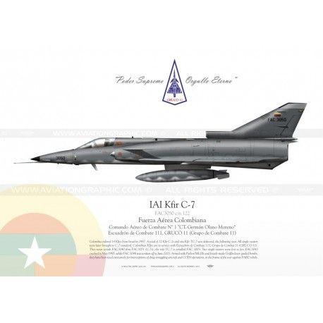 IAI Kfir C-7 Colombia TC-001