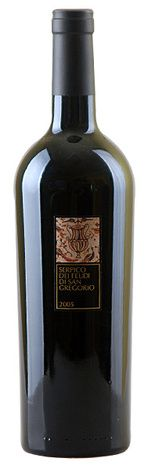 In stock - 76,– € 2005 I Vini dei Feudi di San Gregorio Serpico Irpinia Aglianico, red dry , Italy - 90pt Serpico has full ruby-red colour and intense longlasting aroma reminding sour cherries, black cherries, burnt wood and vanilla. In taste is voluminous with good tanstuffs, ilong and persistent. Bog wine for gourmets and experts.
