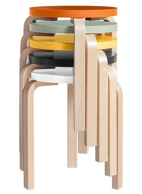 gemakkelijk zelf te maken met ikea krukje Artek stool 60 01  handig in de keuken voor een lunch bij het aanrecht, very handy everywhere!