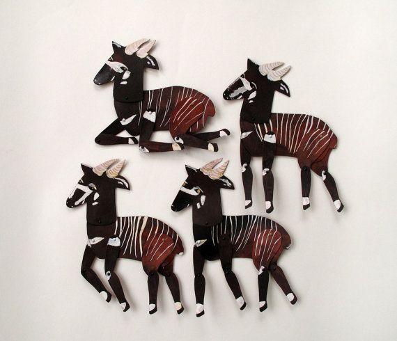 Bongo Antelope Mini Beast  / Hinged Beasts Series