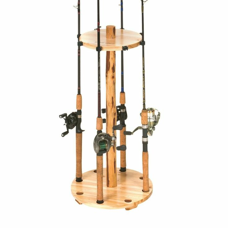 98 best my cottage plan images on pinterest cottage for Fishing rod holders for home