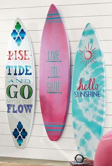 Dorm Decor by Style - Beach Surfboards