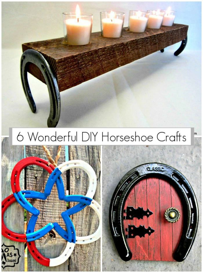 6 Wonderful Diy Horseshoe Crafts Diy Crafts Horseshoe Crafts Diy Diy Crafts For Home Decor Horseshoe Crafts