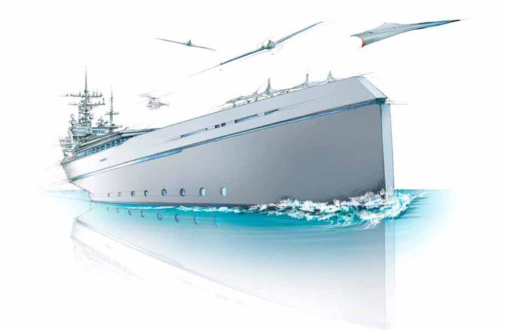 illustration navire guerre futuriste Florence Gendre #illustration #navire