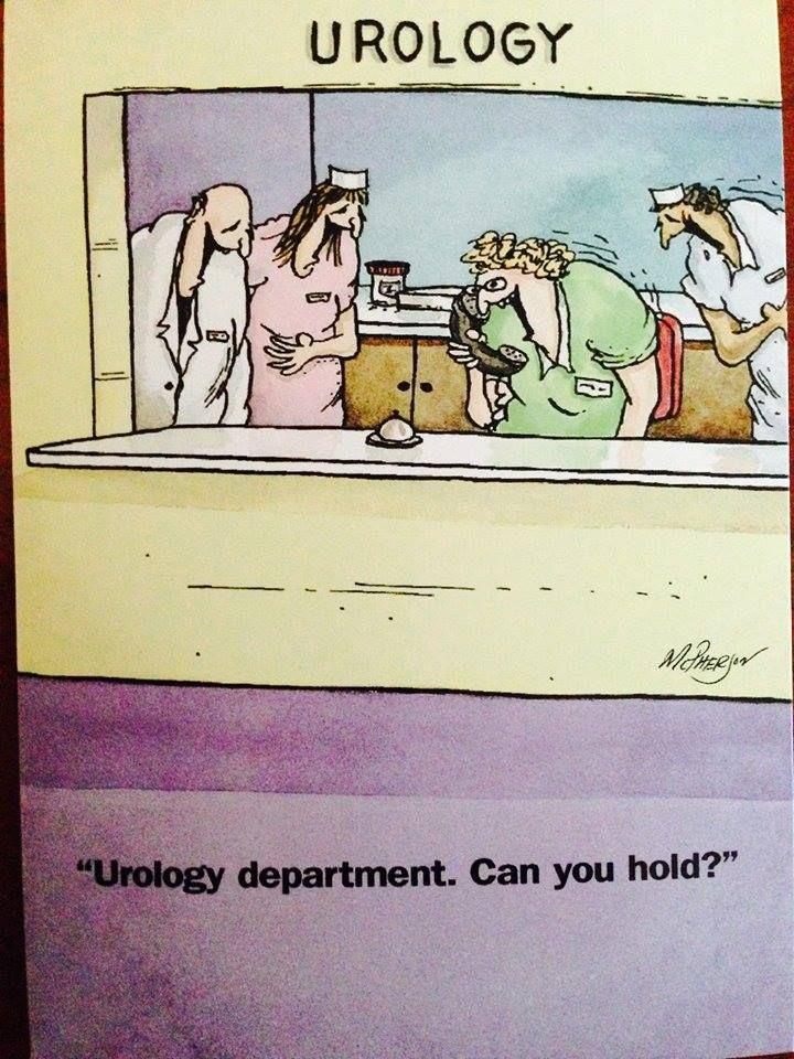 Made me giggle a little. :) Gotta love being a urology nurse!