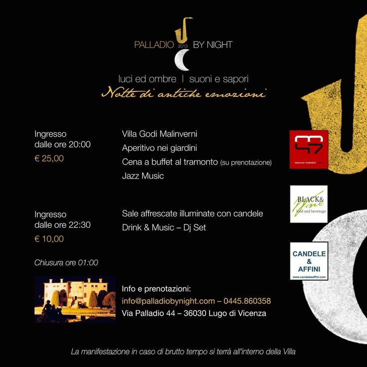 #palladiobynight #palladio #eventi #villagodi #iltorchio