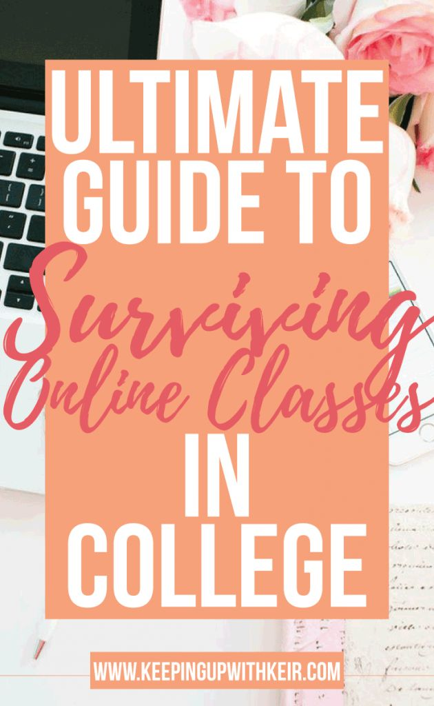 Ultimate Guide to Surviving Online College Classes + FREE Printable Assignment Tracker. Ever feel like you can't keep up with online college classes? I share all my tips and tricks to doing your best in my ultimate guide! Hard online college classes are a thing of the past. These study tips will be your best friend.