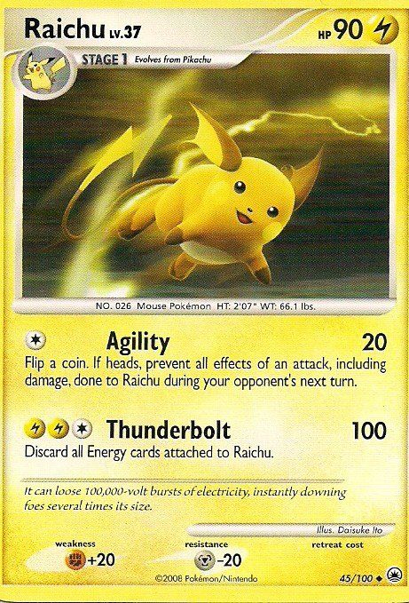 best pokemon card ever its rare and evolves from pikachu
