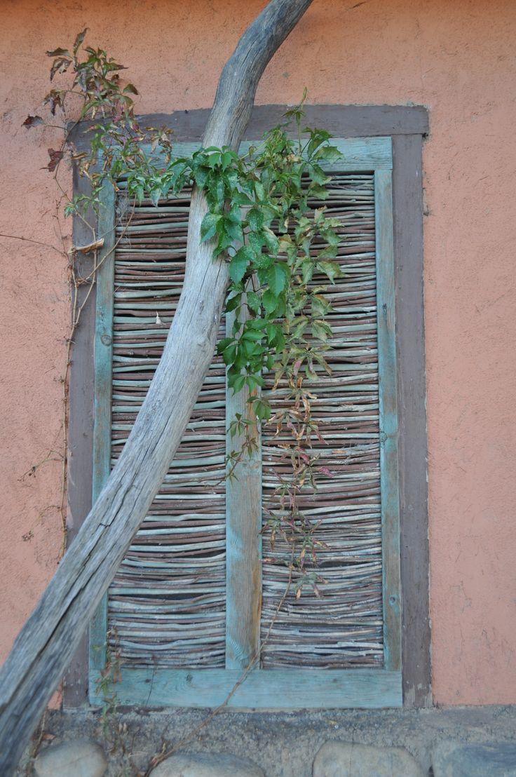 Window in Mora New Mexico.
