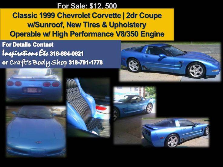 1999 Chevrolet Corvette for Sale
