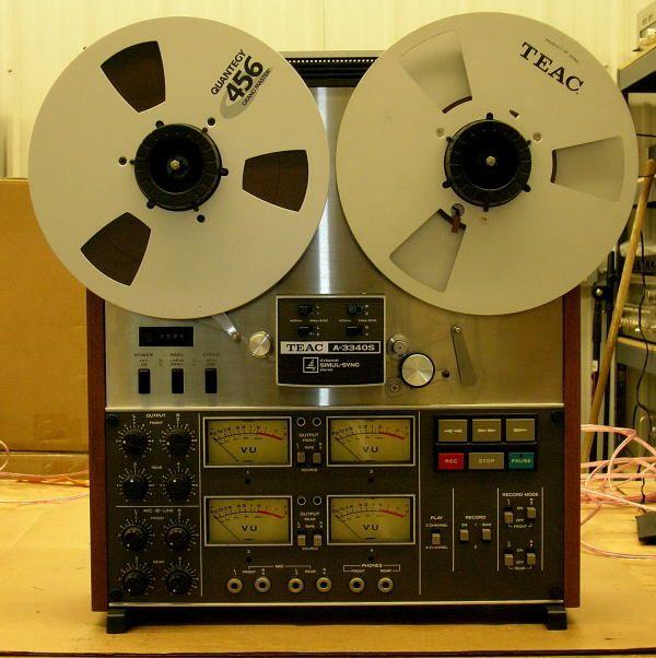 TEAC 3340S - www.remix-numerisation.fr - Numérisation - Capture - Transfert audio - Restauration audio