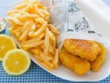 Quintessentially British traditional and tasty fish and chips