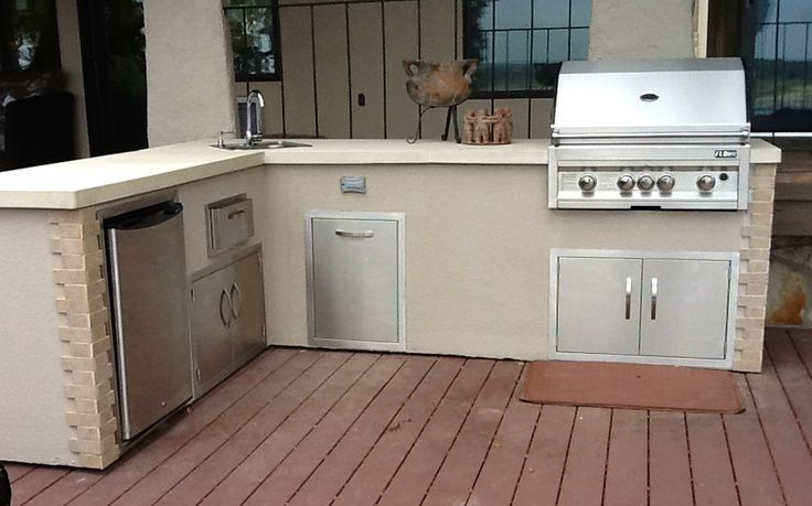 flo grills outdoor kitchen in stucco finish the showroom
