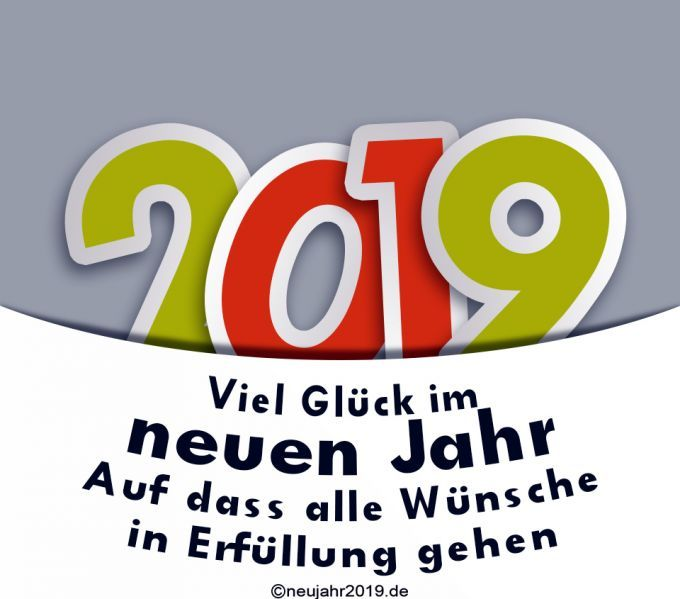 Neujahrswünsche lustig 2019