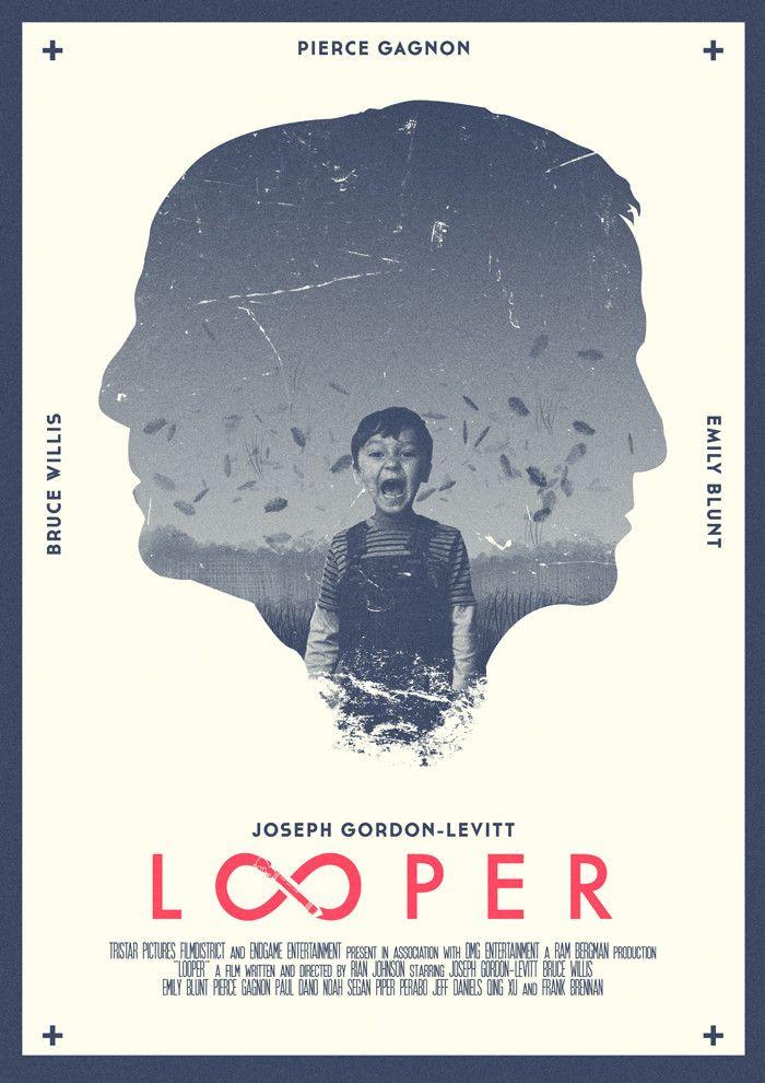 Risultati immagini per looper movie poster