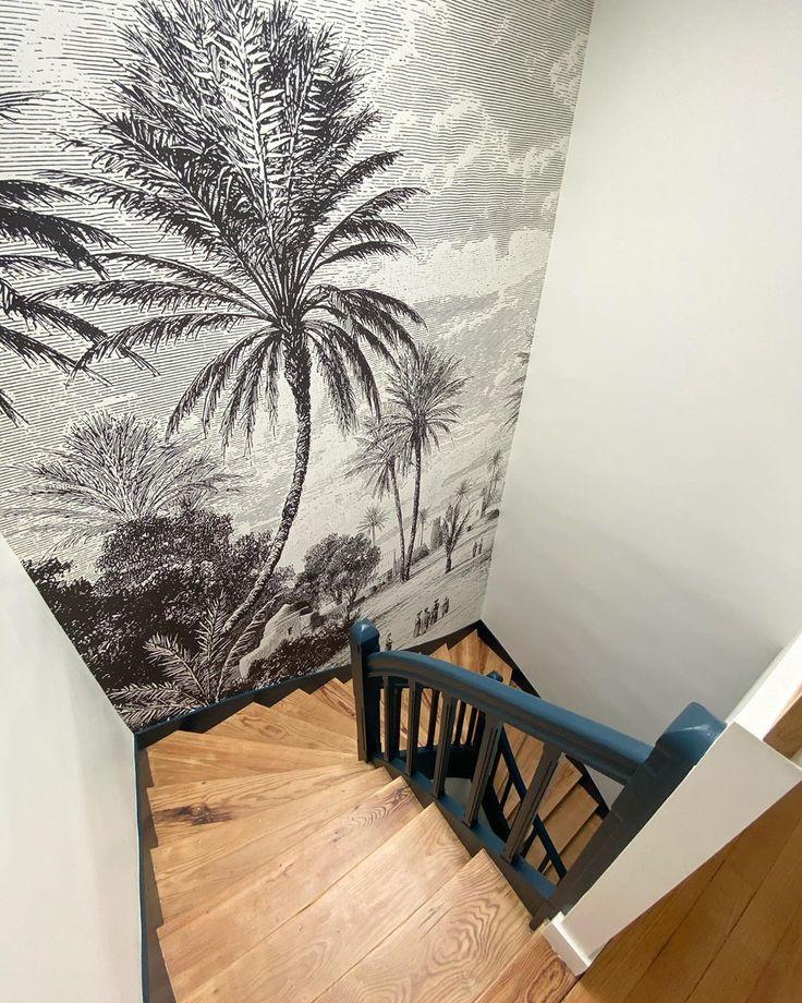 Camille De Rafelis On Instagram Leclerc La Belle Cage D Escalier De Cette Belle Maison Familiale Sublimee Par L En 2020 Cage Escalier Escalier Deco Cage Escalier
