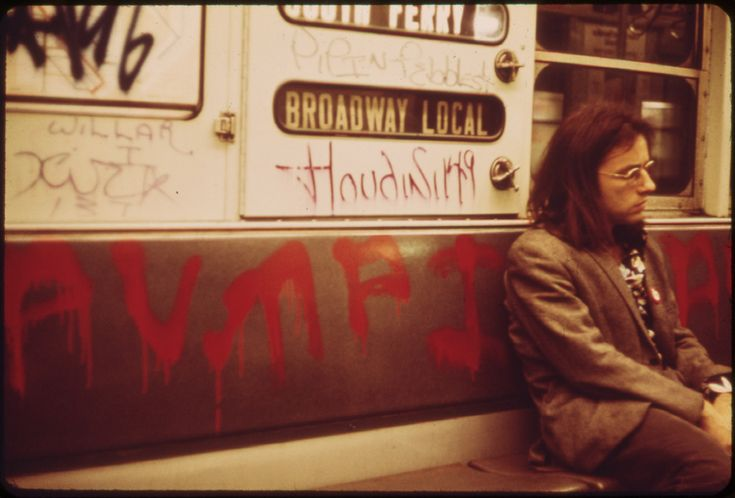 NYC Subway in 1973