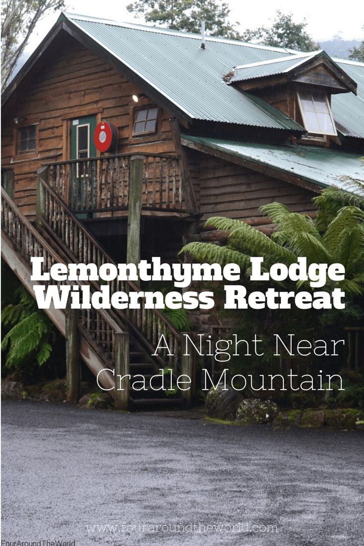 Lemonthyme Lodge Wilderness Retreat: A night near Cradle Mountain in Tasmania