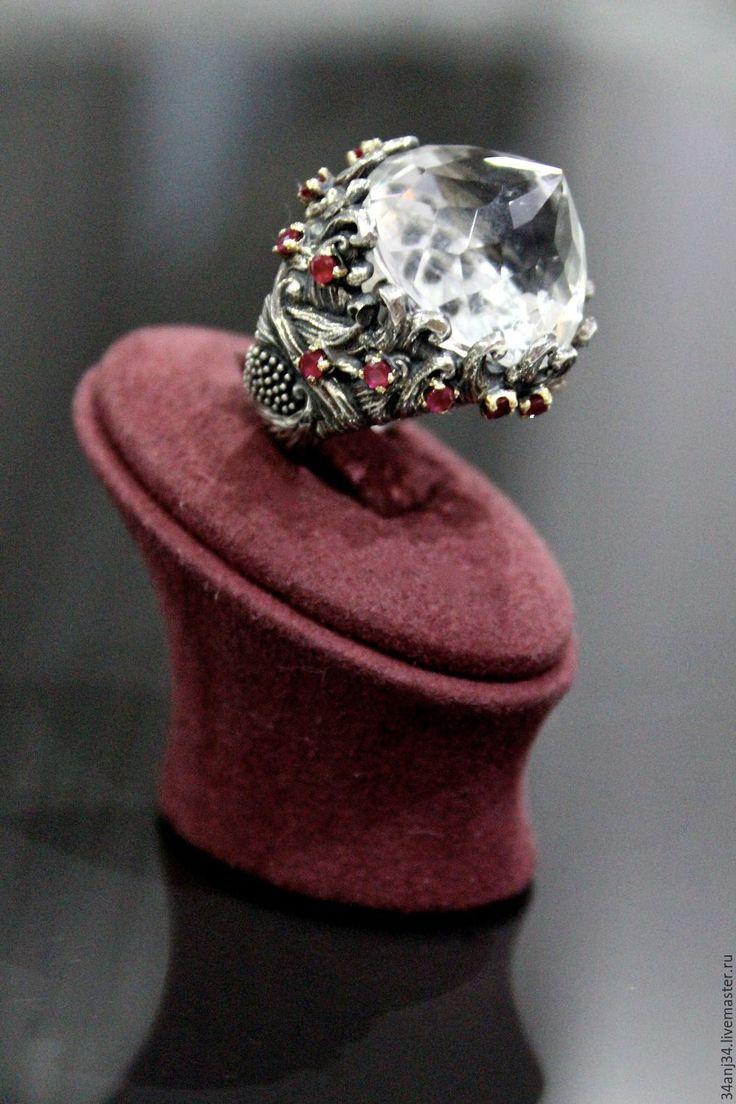 """Купить Кольцо """"Хрустальный Дворец"""" - серебряный, ювелирные украшения, ювелирные изделия, серебряные украшения"""