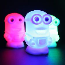 New Despicable Me 2 Minions Figures Color Changing Colorful Night Light Lamp Toy