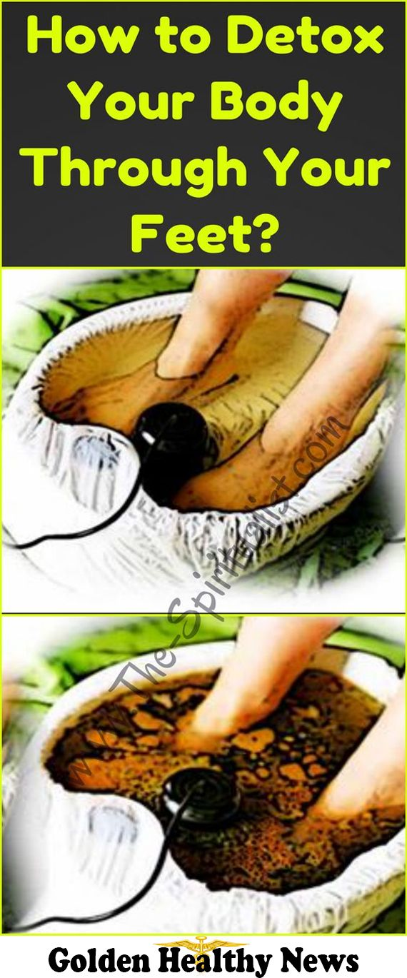 Remove Toxins of the Body Through the Feet