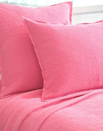 Elizabeth Peony Matelasse Coverlet by Pine Cone Hill
