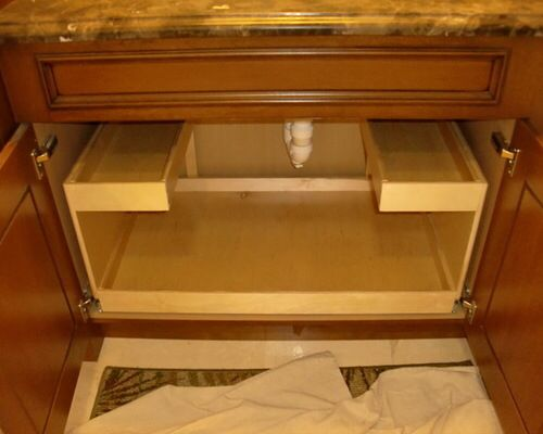 kitchen cabinet sink drawer 12 best sink storage solution images on 19561