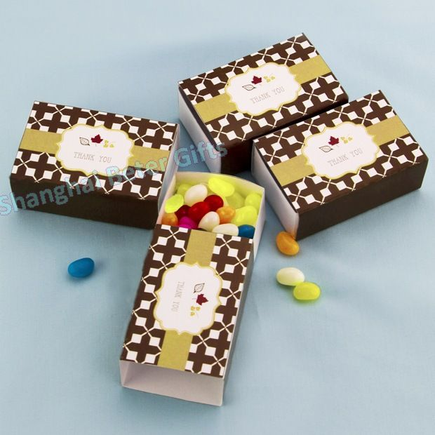 Autumn Leaf Favor Box Wedding Anniversary BETER-TH036   #weddingfavorbox #candybox #weddinginspirations