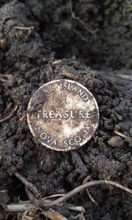 "I found ""Oak Island Treasure!!!"" haha! - Friendly Metal Detecting Forums"