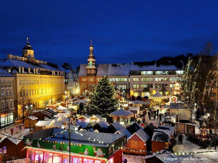Christmas Market, Eisenach, Thuringia, Germany