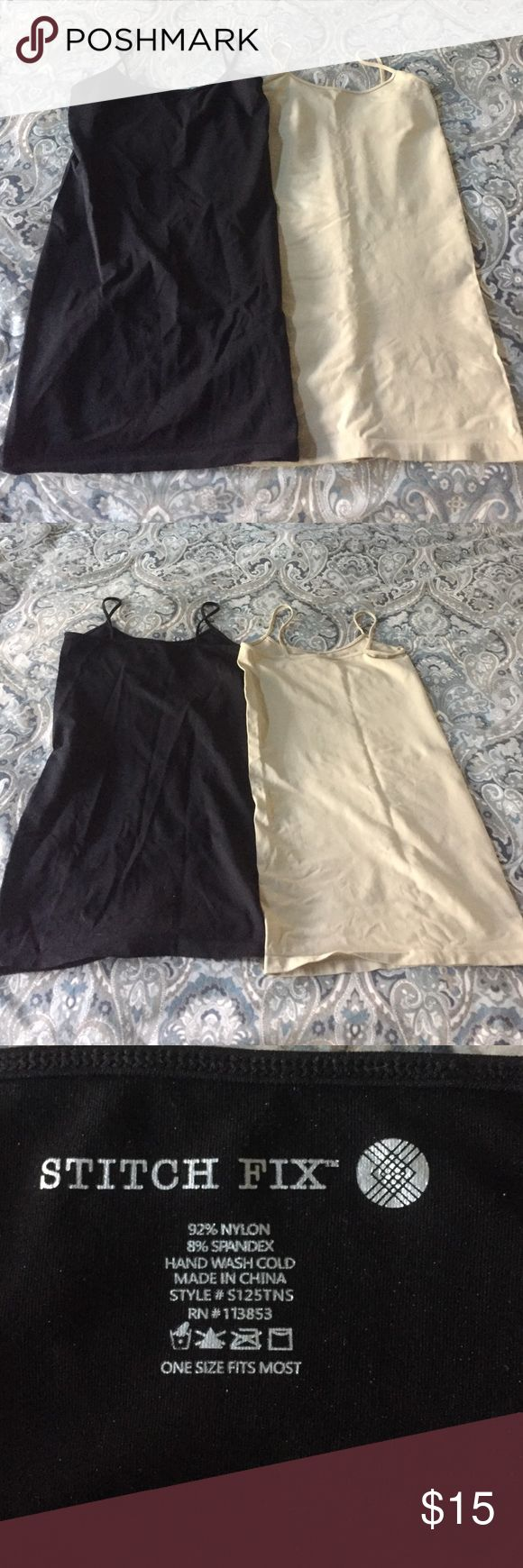 Stitch fix maternity camis Super soft maternity camis from stitch fix. Great for layering under shirts. One size. Never worn (I forgot I had them!) stitch fix Other