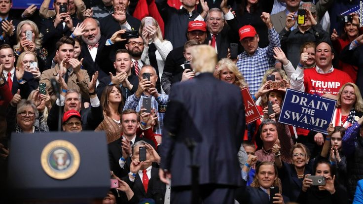 "During a campaign rally a little less than a year before he entered the White House, Donald Trump boasted that his supporters' loyalty was such that he ""could stand in the middle of 5th Avenue and shoot somebody"" with political impunity."