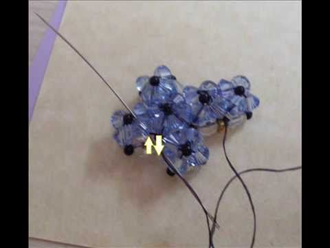 tutorial perline: croce semplice (beads cross) .wmv