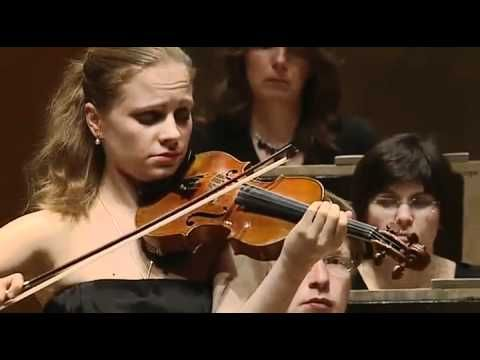 Mendelssohn Violin Concerto in E Minor - 1st movement.  Violin Soloist Julia Fischer plays this beautiful and accessible piece of art music like a rock star.  The orchestra and conductor are terrific, but unnamed.  Enjoy!