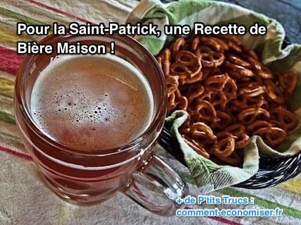 Si dans votre ville aucune fête n'est organisée, si vous préférez faire cette fête chez vous entre amis... Ou si tout simplement vous voulez savoir faire de la bière à n'importe quelle occasion... Alors voici une recette tout simple, pour réussir une bonne bière maison !  Découvrez l'astuce ici : http://www.comment-economiser.fr/saint-patrick-biere.html?utm_content=buffer95246&utm_medium=social&utm_source=pinterest.com&utm_campaign=buffer