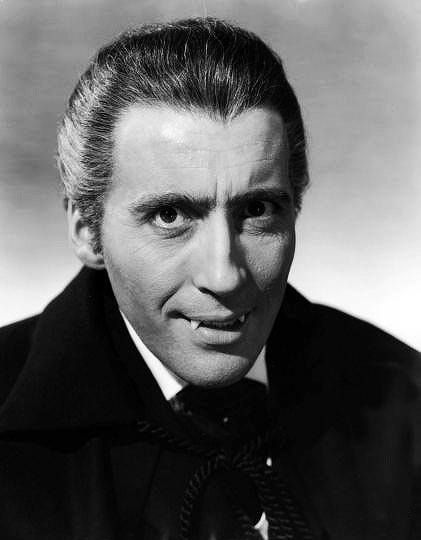 Horror of Dracula (1958) Publicity shot of Christopher Lee ...